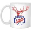 Chicago Stags 11 Oz Coffee Mug by ThirtyFive55 at SportsWorldChicago