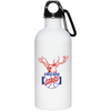 Chicago Stags 20 Oz Stainless Steel Water Bottle by ThirtyFive55 at SportsWorldChicago