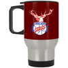 Chicago Stags Silver Stainless Travel Mug by ThirtyFive55 at SportsWorldChicago