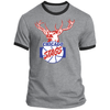 Chicgao Stags Ringer Tee by ThirtyFive55 at SportsWorldChicago