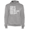 1060 W Addison Street Fleece Pullover Hoodie by ThirtyFive55 at SportsWorldChicago