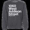 1060 W. Addison Street Crewneck Pullover Sweatshirt