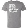 1060 W Addison Street Tri-Blend Tee by ThirtyFive55 at SportsWorldChicago