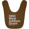 1060 W Addison Street Baby Bib by ThirtyFive55 at SportsWorldChicago