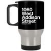 1060 W Addison Street Silver Stainless Travel Mug by ThirtyFive55 at SportsWorldChicago