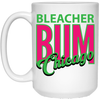 Wrigley Field 1980s Neon Bleacher Bum 15 Oz Mug at SportsWorldChicago