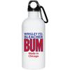 Wrigley Field Official Bleacher Bum 80s Vintage 20 Oz Stainless Steel Water Bottle at SportsWorldChicago