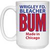 Wrigley Field Official Bleacher Bum 80s Vintage 15 Oz Mug at SportsWorldChicago