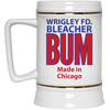 Wrigley Field Official Bleacher Bum 80s Vintage 22 Oz Beer Stein at SportsWorldChicago