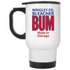 Wrigley Field Official Bleacher Bum 80s Travel Mug at SportsWorldChicago