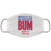 Wrigley Field Official Bleacher Bum 80s Vintage Face Mask at SportsWorldChicago