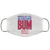 Wrigley Field Official Bleacher Bum 80s Vintage Face Mask at SportsWorldChicago