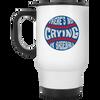 There's No Crying in Baseball Travel Mug
