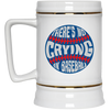 There's No Crying in Baseball 22 Oz. Beer Stein