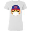 Baseball Maskmoji Ladies T-Shirt