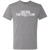 Chicago Football Team Gridiron Tri-Blend Tee
