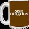 Chicago Football Team Gridiron Coffee Mug