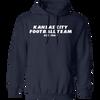 Kansas City Football Team Gridiron Hoodie
