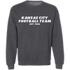 Kansas City Football Team Gridiron Crewneck Sweatshirt