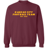 Kansas City Football Team Crewneck Sweatshirt