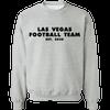 Las Vegas Football Team Crewneck Sweatshirt