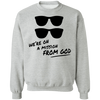 On a Mission From God Crewneck Sweatshirt