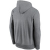 Chicago Bears Gray Prime Logo Therma Pullover Hoodie