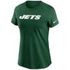 New York Jets Green Women's Wordmark T-Shirt