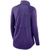 Minnesota Vikings Purple Women's Logo Element Half Zip Pullover