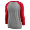 Kansas City Chiefs Gray Women's Left Chest Logo Gym Vintage Sweatshirt