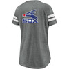 Chicago White Sox Gray Women's True Classics Triblend Traditional Lines Shirt