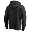 Arizona Cardinals Black Cotton Fleece Team Lockup Hood