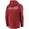 Arizona Cardinals Red Iconic Poly Embossed Defender Fleece Full Zip