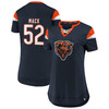 Khalil Mack Chicago Bears Navy Women's Iconic Athena T-Shirt