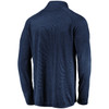Chicago Bears Navy Striated Synthetic Primary 1/4 Zip