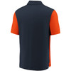 Chicago Bears Navy Iconic Clutch Color Blocked Polo