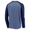 Chicago Bears Navy Iconic Marble Clutch Long Sleeve