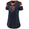 Chicago Bears Navy Women's Iconic Team Athena T-Shirt