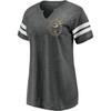 Green Bay Packers Charcoal Women's Retro Label T-Shirt