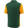 Green Bay Packers Green Iconic Clutch Color Blocked Polo