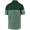 Green Bay Packers Green Iconic Shadow Stripe Polo