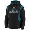Jacksonville Jaguars Black Iconic Cotton Fleece Color Block Hood
