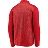 Kansas City Chiefs Red Iconic Clutch Modern Collar 1/4 Zip