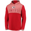 Kansas City Chiefs Red Iconic Marble Clutch Lightweight Hood