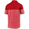 Kansas City Chiefs Red Iconic Shadow Stripe Polo