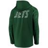 New York Jets Green Iconic Poly Embossed Defender Fleece Full Zip