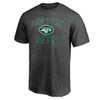 New York Jets Charcoal Cotton Victory Arch T-Shirt