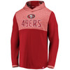 San Francisco 49ers Red Iconic Marble Clutch Lightweight Hood