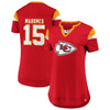 Patrick Mahomes Kansas City Chiefs Red Women's Iconic Athena T-Shirt