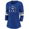 Los Angeles Rams Royal Women's Iconic Bi T-Shirt